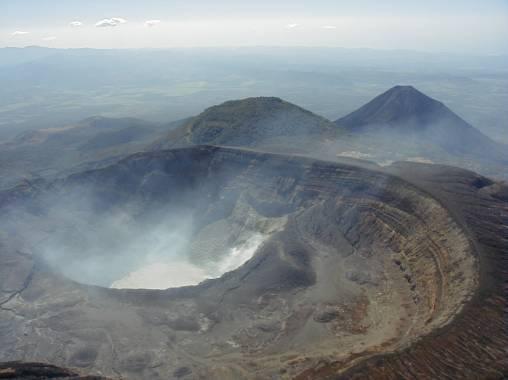 volcanes activos: