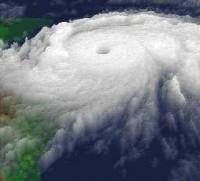 La Imagen satelital muestra al Huracán Mitch 26 de Octubre de 1998, Fuente: NASA