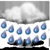 Lluvia fuerte
